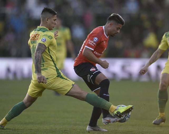 El tucumano Palacios le dio la victoria a Independiente sobre Defensa y Justicia - LA GACETA Tucumán
