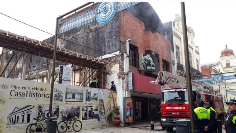 Resultado de imagen para incendio en gimnasio tucuman