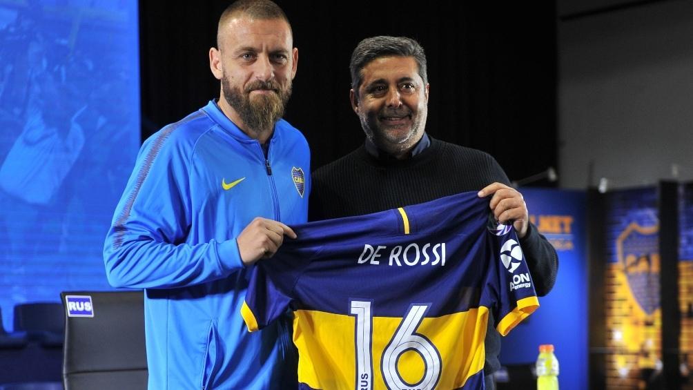 Debut, gol y eliminación para De Rossi en Boca