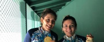 Mamá de dos niños, ama de casa y medallista de oro: la historia de Cynthia Pinto