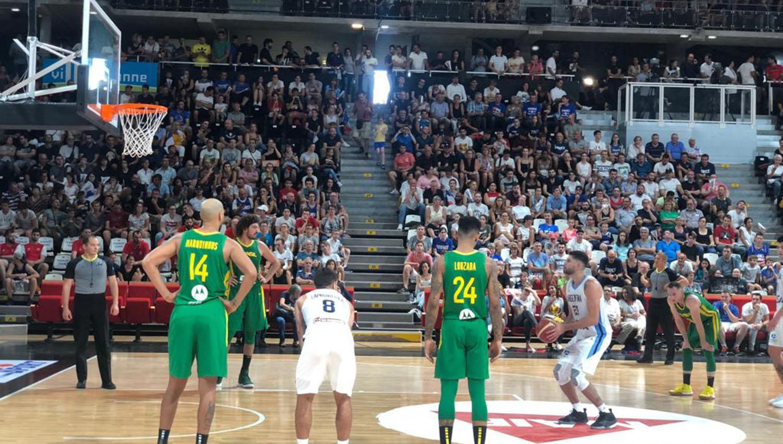 Deportes: Argentina mostró una mejor imagen y derrotó a Montenegro en Lyon