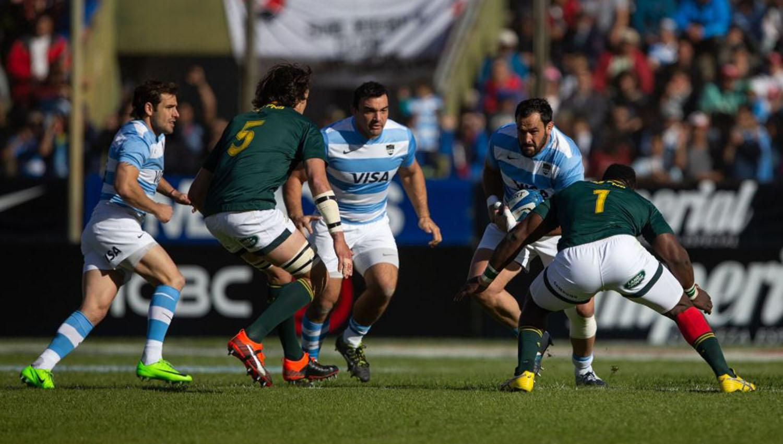 Ajustada derrota de Los Pumas ante Sudáfrica