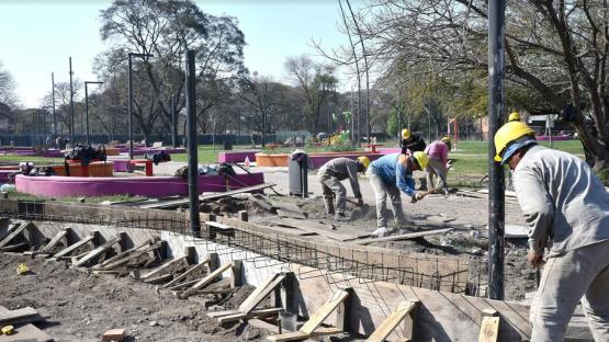 Parque El Provincial: en septiembre quedará inaugurada la segunda etapa