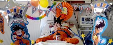 Su esperanza de vida era de cinco años: hoy cumplió 13 y hubo fiesta en el hospital