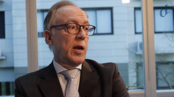 Guillermo Nielsen es el presidente de YPF