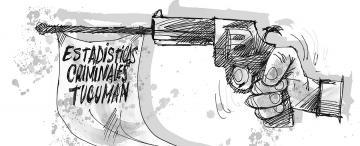 A los tiros con la estadística criminal