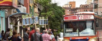 Habrá menos ómnibus en las calles tucumanas si falta el combustible