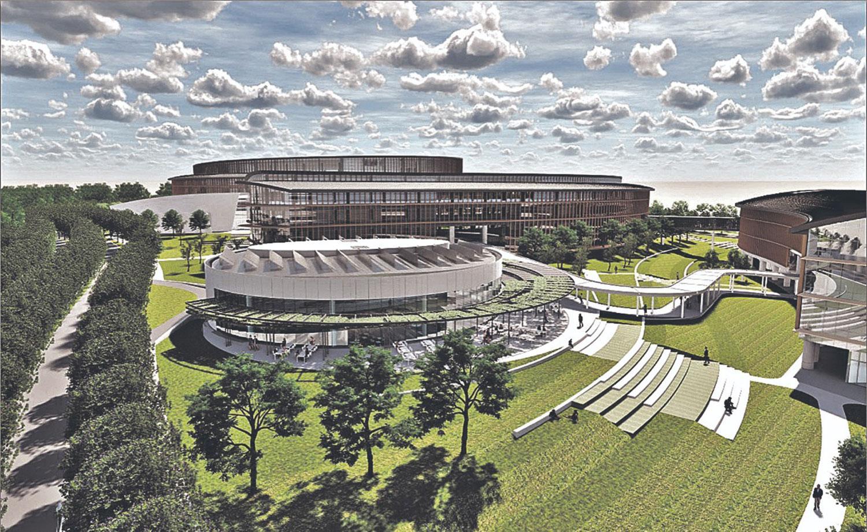 PENSANDO A FUTURO. El Centro Cívico incluirá, además de oficinas públicas, auditorios y centros comerciales, todo un entorno planificado.