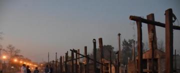 Hace días un vecino había impedido que se quemaran los ranchos