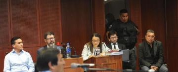 El juicio por el crimen del obrero de Vialidad empezó con una detenida