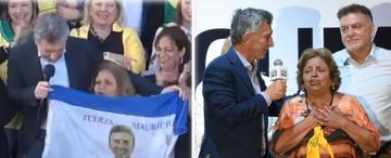 Manuela, la jubilada que compartió escenario con Macri dos veces en 18 días y su pasado bussista