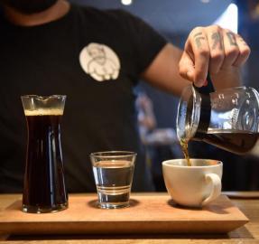 Experimentar el café en cientos de aromas y sabores