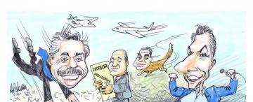 Mac Pato, el zorro, los amigos y el avión