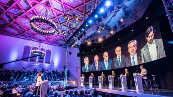 Los candidatos eligieron la prudencia y el debate les sirvió para retener los votos obtenidos