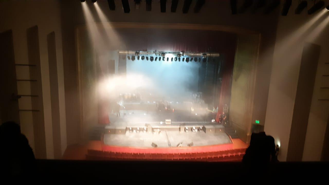 Se incendió el escenario en un recital de Diego Torres: Imágenes