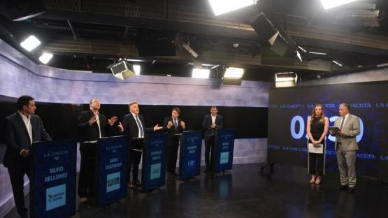 Vocinglería, tensión y chicanas en los minutos libres del debate