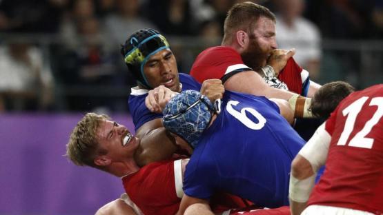 Copa del Mundo de Rugby: golpe a la ilusión francesa