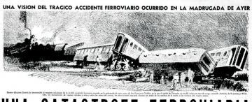 Hojeando el diario: una tragedia ferroviaria de proporciones en 1939
