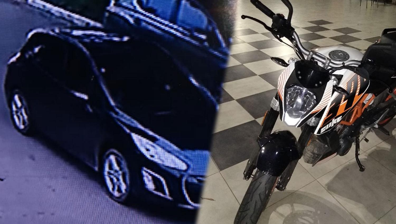 Le robaron una moto de medio millón de pesos del living de su casa y ofrece recompensa
