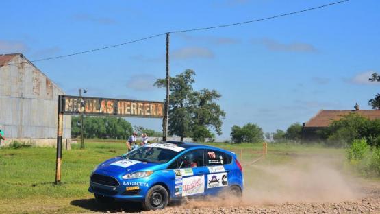 Campeonato Argentino de Rally: García llegó al final en Entre Ríos