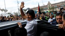 Evo Morales confesó que