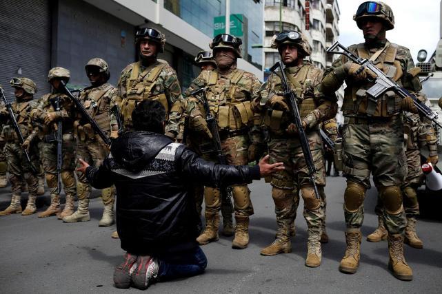 """Resultado de imagen de represión bolivia"""""""