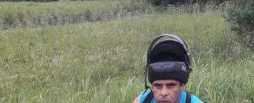 Fin de la tercera fuga: Rodríguez, al ver a los policías, sólo atinó a levantar las manos