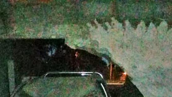 Una camioneta que manejaba un conductor ebrio les destruyó la casa