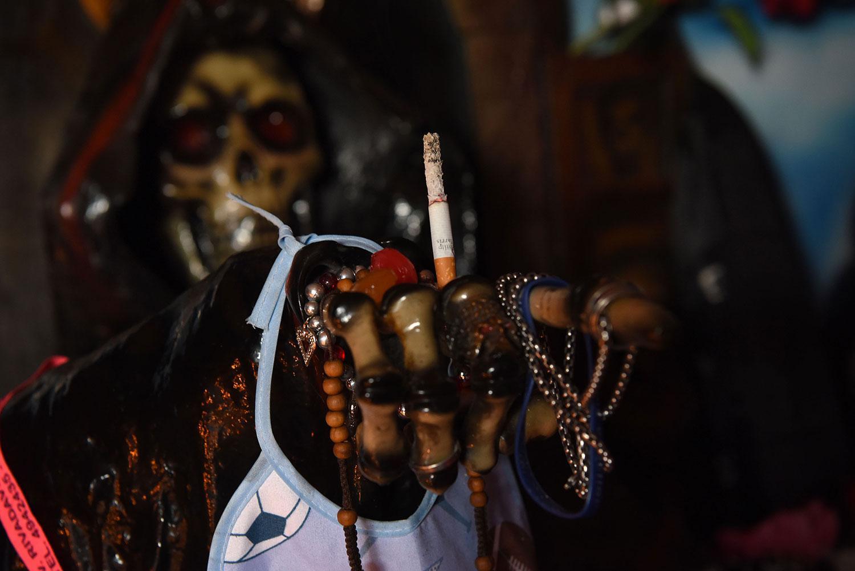 Culto a San La Muerte: milagros relatados por sus propios fieles devotos -  LA GACETA Tucumán