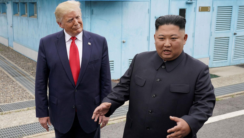 Trump envía mensaje al presidente norcoreano Kim Jong Un en su cumpleaños