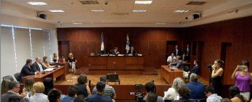 Acto de transparencia en el receso judicial