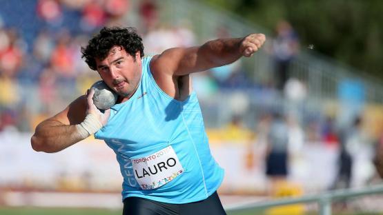 Se retiró Germán Lauro, uno de los atletas argentinos más importantes de la historia