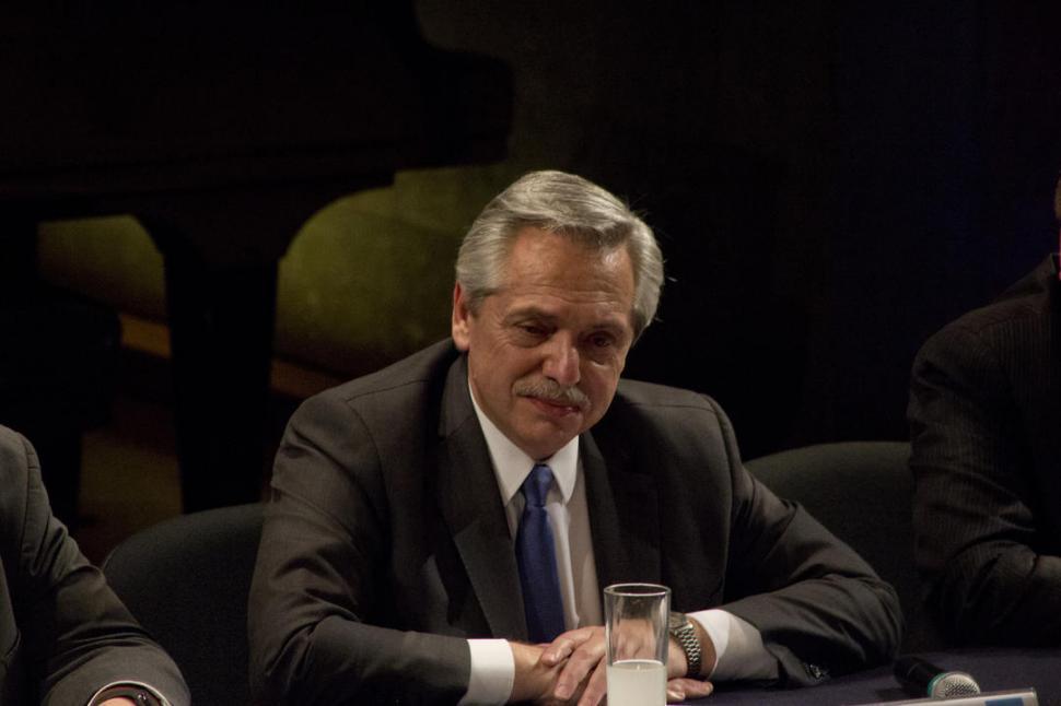 AVALES. Alberto pedirá a los líderes europeos que acompañen sus gestiones. reuters