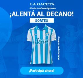 ¿Querés una camiseta de Atlético? Participá del sorteo de LA GACETA