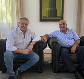 Manzur pidió a Fernández financiamiento para obras