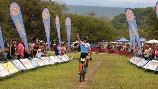 Mountain bike: Soto mostró todo su potencial