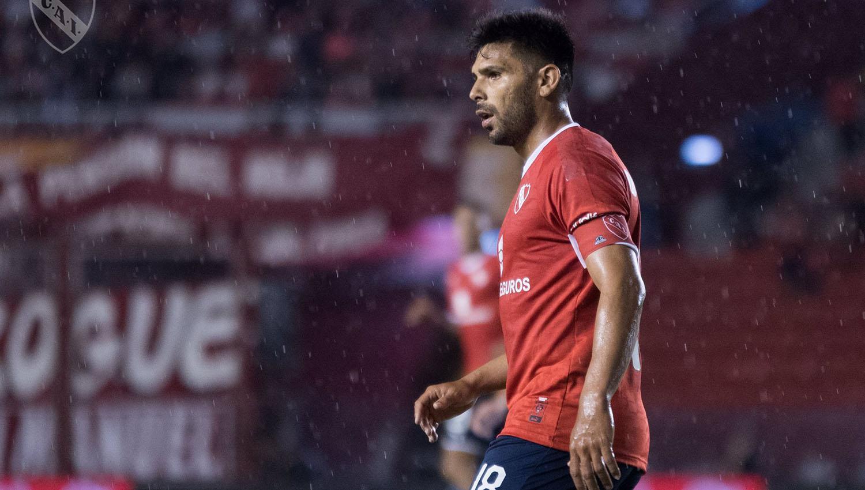Silvio Romero, capitán y goleador del Rojo. (FOTO TOMADA DE PRENSA CLUB ATLÉTICO INDEPENDIENTE)