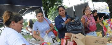En Yerba Buena reciclan 18.000 kilos de basura por mes