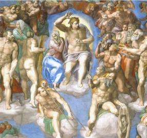 Las pinturas más famosas: las figuras de Miguel Ángel causaron escándalo en El Vaticano