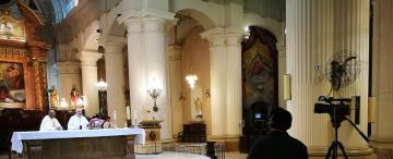 """""""Jamás imaginé una Semana Santa así, con templos cerrados pero con la Iglesia metida en cada hogar"""""""