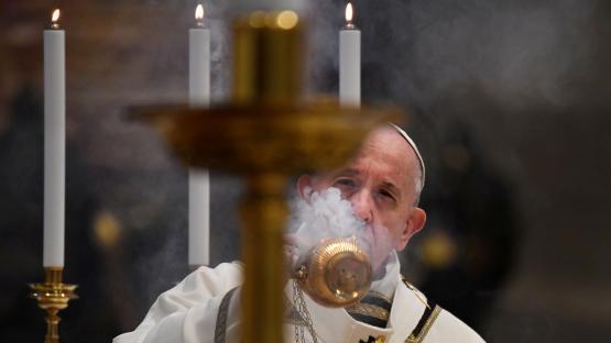 El Papa pidió que la vacuna contra el coronavirus