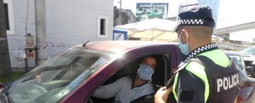 Barbijo obligatorio en Concepción y multas de $ 5.000 para los que no cumplen