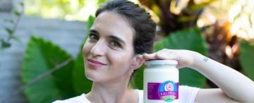 A partir de lácteos tranqueños, creó su marca de yogur griego