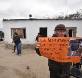 """Caso Espinoza: """"huyeron del lugar escuchando música"""""""