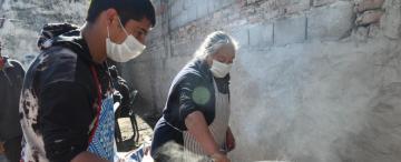 Relanzan un comedor para jóvenes adictos en La Costanera