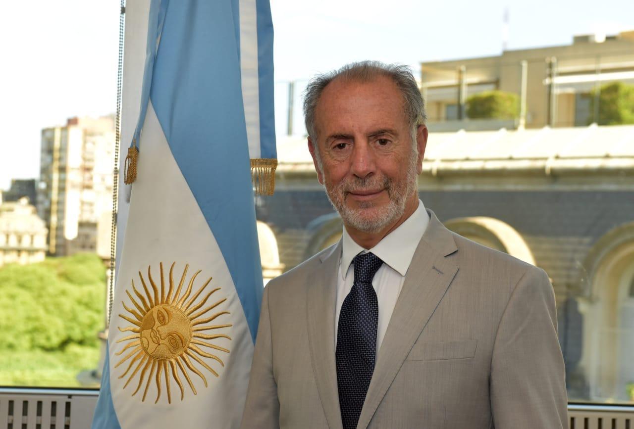 REPRESENTANTE. El tucumano Jorge Neme, secretario de Relaciones Económicas Internacionales de la Nación, participó de una telereunión por tema del azúcar en el Mercosur.