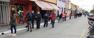 Por temor, algunos negocios no abrieron en Monteros