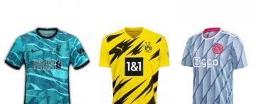 La pinta es lo de menos:  las camisetas más llamativas de la temporada 20/21