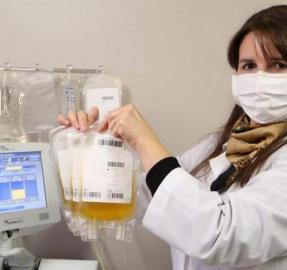 Comienzan a tratar con plasma donado a pacientes con covid