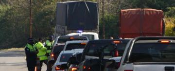 Temor en los Valles por el paso de dos camioneros infectados y polémica por el cierre de la ruta 307